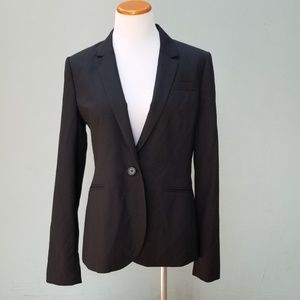 J Crew Tall Campbell Blazer Super 120s Black